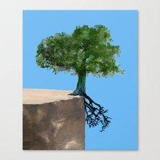 Halfroot Canvas Print