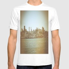 San Francisco SMALL Mens Fitted Tee White