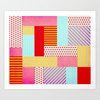 Geometric Pop Art Print