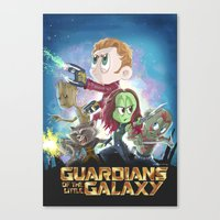 In A Little Galaxy Not S… Canvas Print