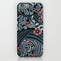 Waves Of Tradition-blue iPhone 6 Slim Case