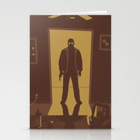 breaking bad Stationery Cards featuring Breaking Bad by Brandon Riesgo