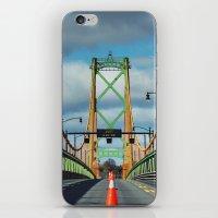 Just Giv'er Bridge iPhone & iPod Skin