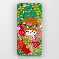 Kokeshina - Printemps / Spring iPhone & iPod Skin