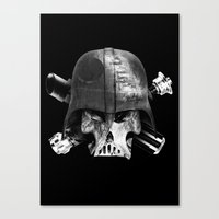 Darth Bones Canvas Print