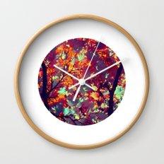 autumn tree X Wall Clock