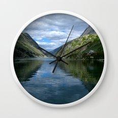 Rondane - Rondevannet  Norway Wall Clock