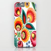iPhone & iPod Case featuring Slavic Folk Pattern by Amdis Rain