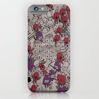 iPhone Cases featuring The Great Battle of 1211 by Stephen Chan