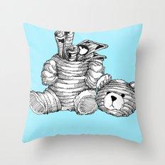 Bearer Bonds Throw Pillow