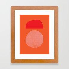 BOULDER Framed Art Print
