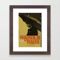 Harold And Maude Movie P… Framed Art Print