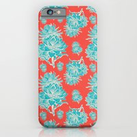 Artichoticka Cyan iPhone 6 Slim Case