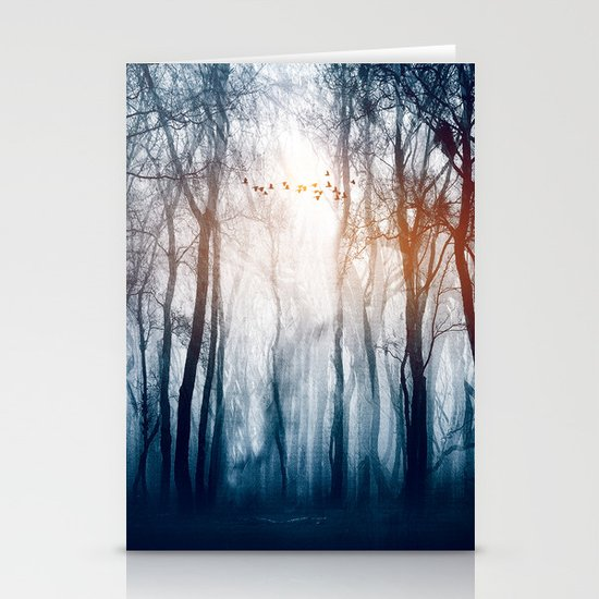 Morning Colours Stationery Card