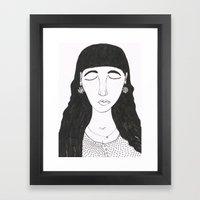 Mim Framed Art Print