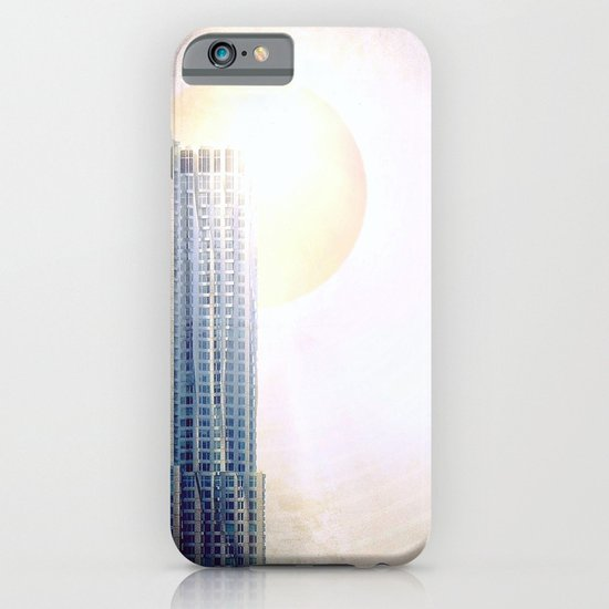 New York by Gehry Illustration iPhone & iPod Case