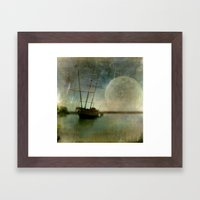 Shipwreck On Lake Ontari… Framed Art Print