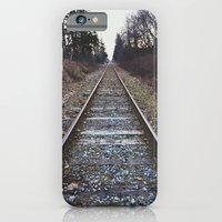 iPhone & iPod Case featuring Train Tracks by MackenzieM