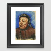 Great Grandfather Framed Art Print