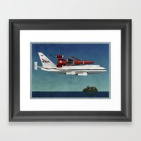 Thunderbird Carrier Framed Art Print