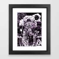 500 Framed Art Print