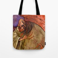 Grandmother Death Tote Bag