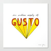 An Endless Supply Of Gus… Canvas Print