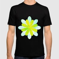 Flowery Mens Fitted Tee Black SMALL