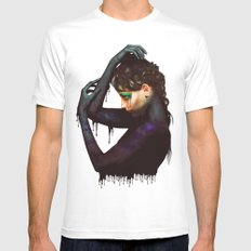 The Girl 2 Mens Fitted Tee White SMALL