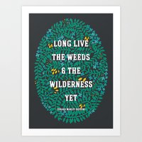 Weeds And Wilderness Art Print