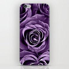 Rose Bouquet in Purple iPhone & iPod Skin