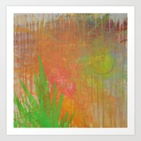 Abstract #75 Art Print