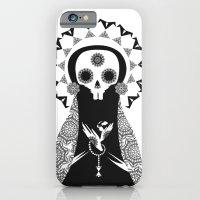iPhone & iPod Case featuring Santa Muerte by Daniela Jiménez