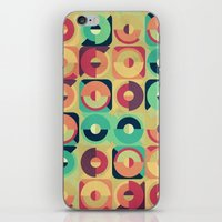Round and Round iPhone & iPod Skin