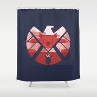 The Captain (SHIELD) Shower Curtain