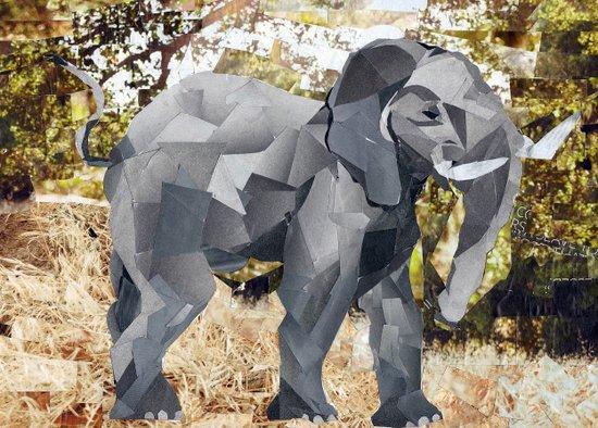 Elephant! Art Print