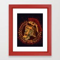 John Spartan Framed Art Print