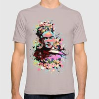 Kahlo Mens Fitted Tee Cinder SMALL