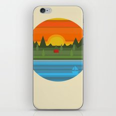Camping iPhone & iPod Skin