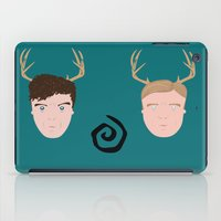 Rust & Marty from True Detective iPad Case