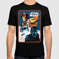 Poe Dameron Vs. Tie Figh… Mens Fitted Tee Black SMALL