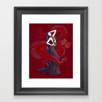 Dreaming Dragons Framed Art Print