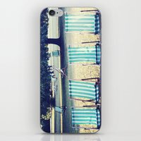 Hyde Park Chairs iPhone & iPod Skin