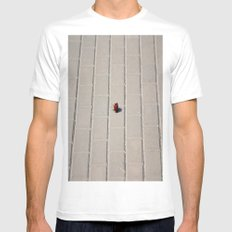 Lonely Flower Mens Fitted Tee White SMALL