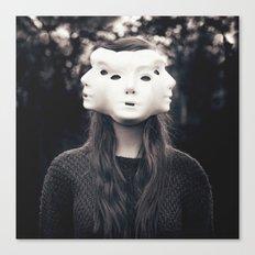 Three Faced Canvas Print