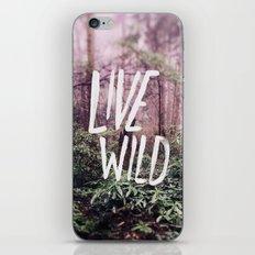 Live Wild: Oregon iPhone & iPod Skin