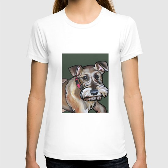 Maggie the irish terrier T-shirt