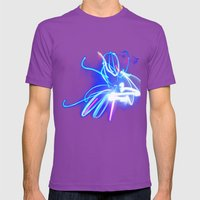 Neon Mens Fitted Tee Ultraviolet SMALL