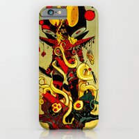 iPhone & iPod Case featuring Queen Skullbash by Eric Bonhomme