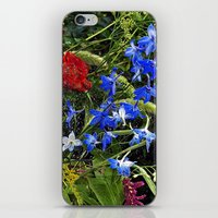 FLORAL DREAM of AUGUST iPhone & iPod Skin
